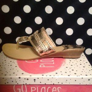 Gold Sandals 9!